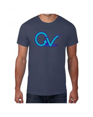 Good Vibes Purple GV Blue T-shirt