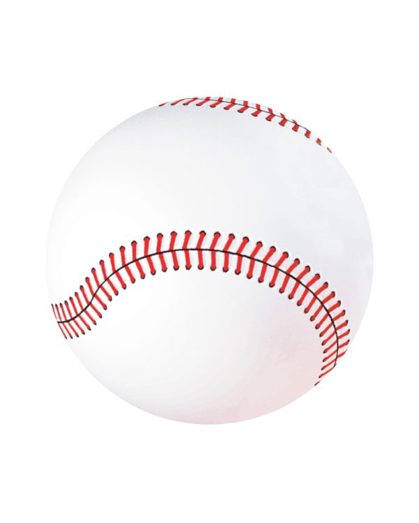 """Baseball Magnet or Sticker for Indoor or Outdoor Use 6.5"""" x 6.5"""""""