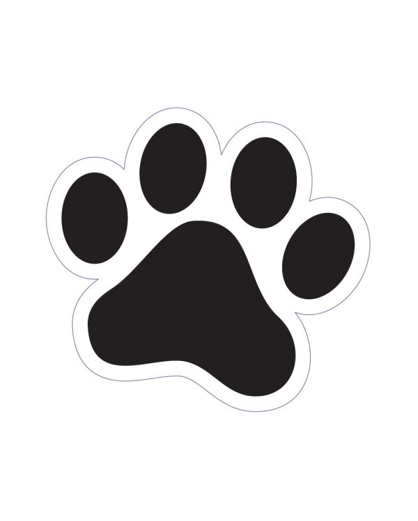 """Cat Track Magnet or Sticker for Indoor or Outdoor Use 1.7"""" x 1.6"""""""
