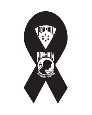 """POW Magnet or Sticker for Indoor or Outdoor Use 8"""" x 4"""""""