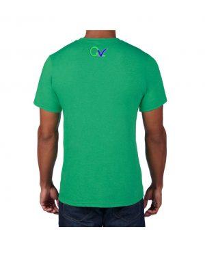 Good Vibes Green Purple Logo Green T-shirt