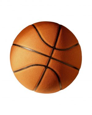"""Basketeball Magnet or Sticker for Indoor or Outdoor Use 5.5"""" x 5.5"""""""