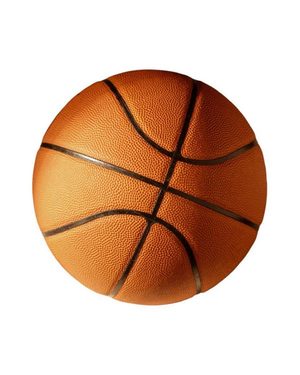 "Basketeball Magnet or Sticker for Indoor or Outdoor Use 5.5"" x 5.5"""