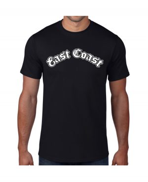 Good Vibes East Coast Black T-shirt