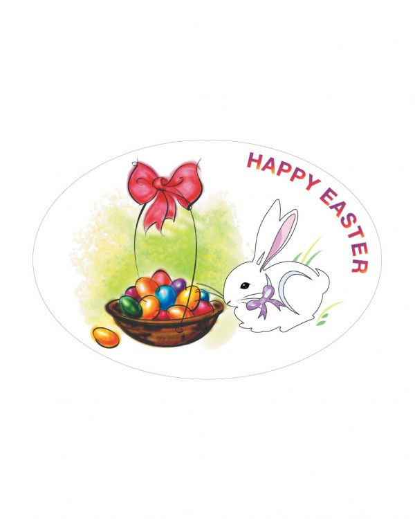 """Easter Magnet or Sticker for Indoor or Outdoor Use 6"""" x 4"""""""