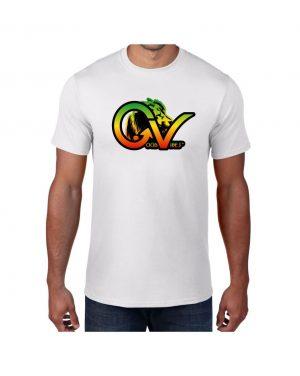 Good Vibes Rastafarian Lion GV White T-shirt