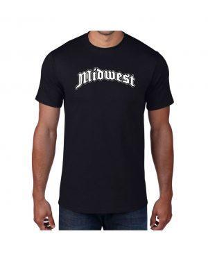 Good Vibes Midwest Black T-shirt