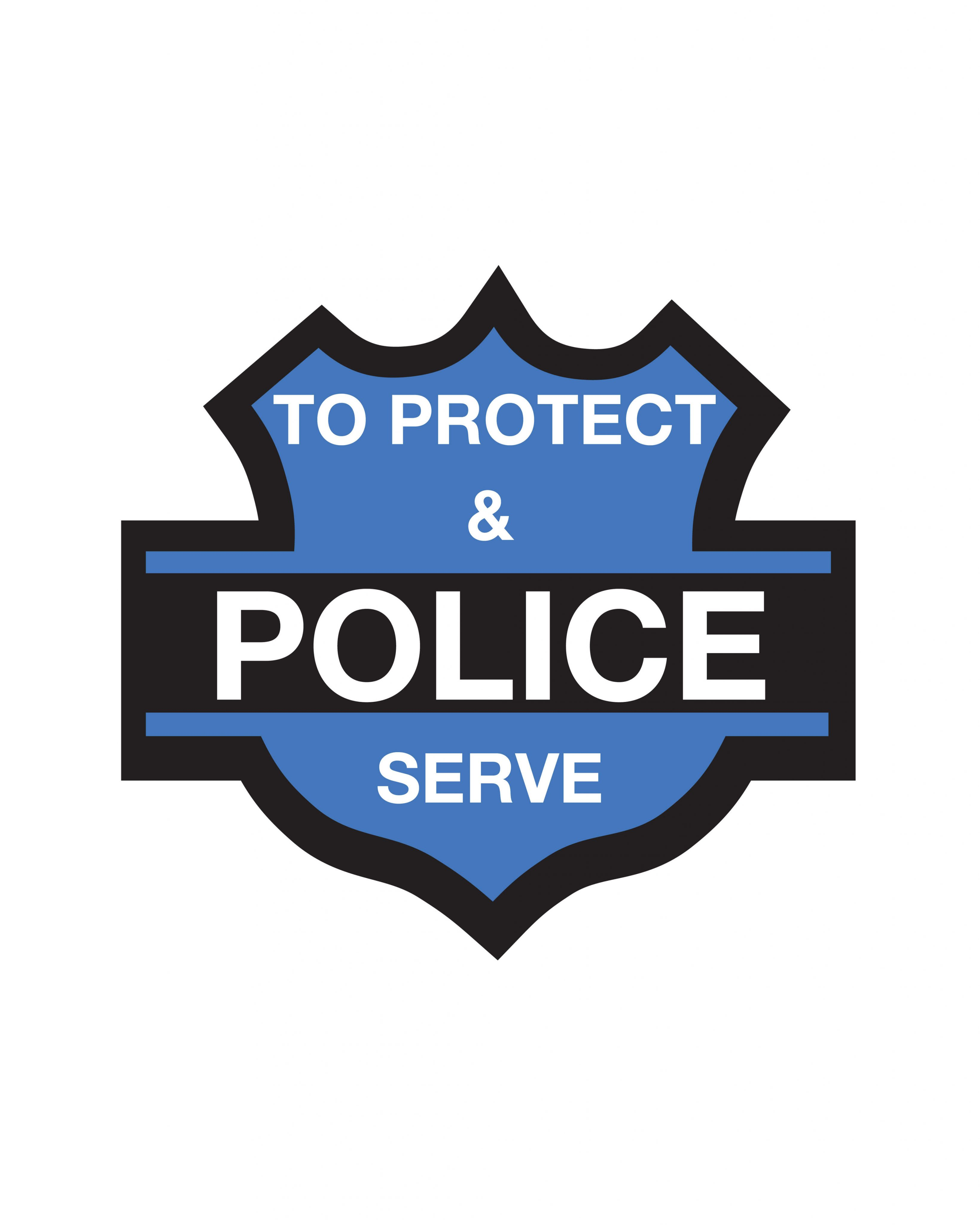 Police Sticker & Magnet | GGS Global Graphic Solutions