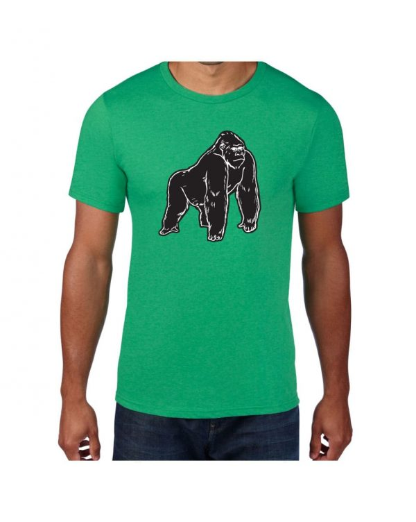 Good Vibes Black Gorilla Green T-shirt