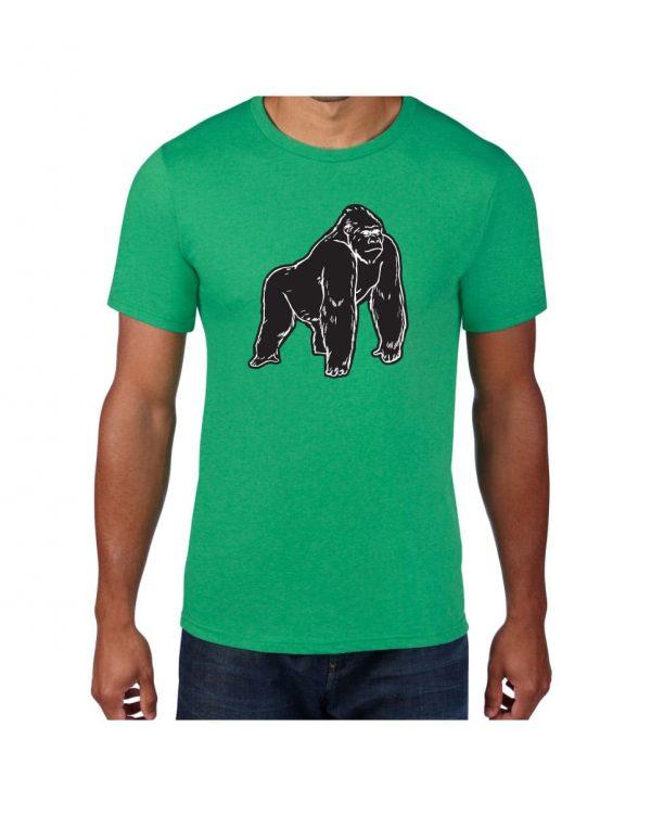Good Vibes Black Gorilla Green T-shirt