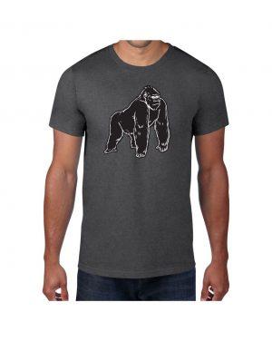 Good Vibes Black Gorilla Gray T-shirt
