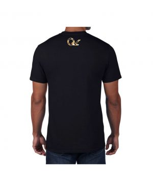 Good Vibes Cheetah Claw Black T-shirt
