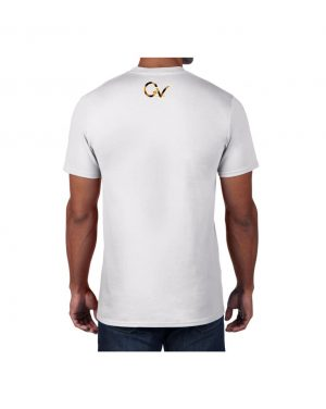 Good Vibes Cheetah Claw White T-shirt