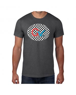 Good Vibes Multi Color Checker T-shirt