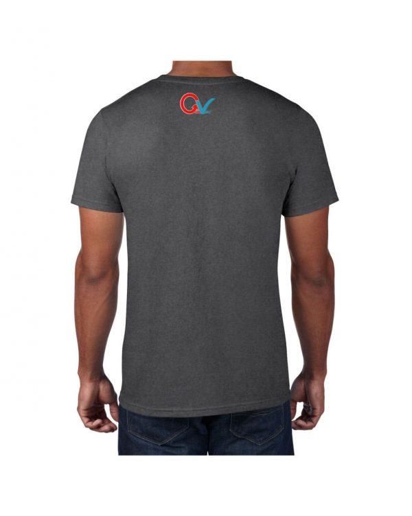 Good Vibes GV Multi Color Gray T-shirt