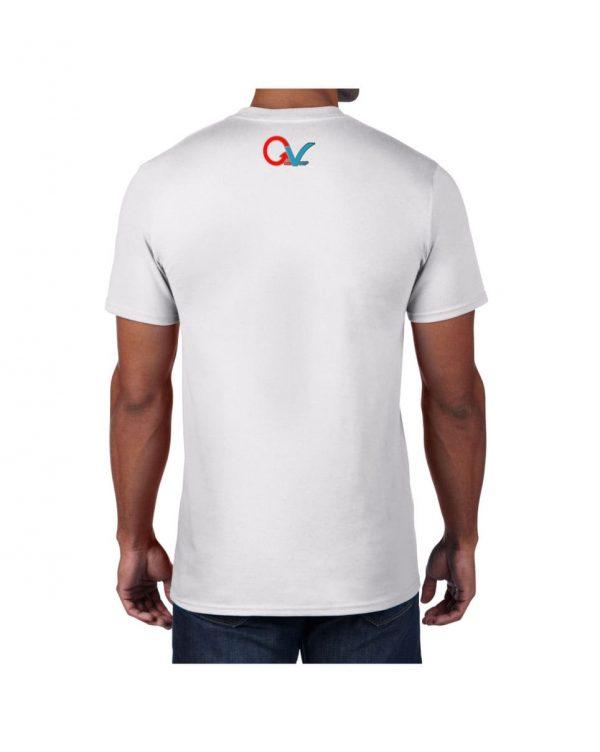 Good Vibes GV Multi Color White T-shirt