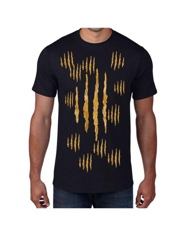 Good Vibes Lion Claw Black T-shirt