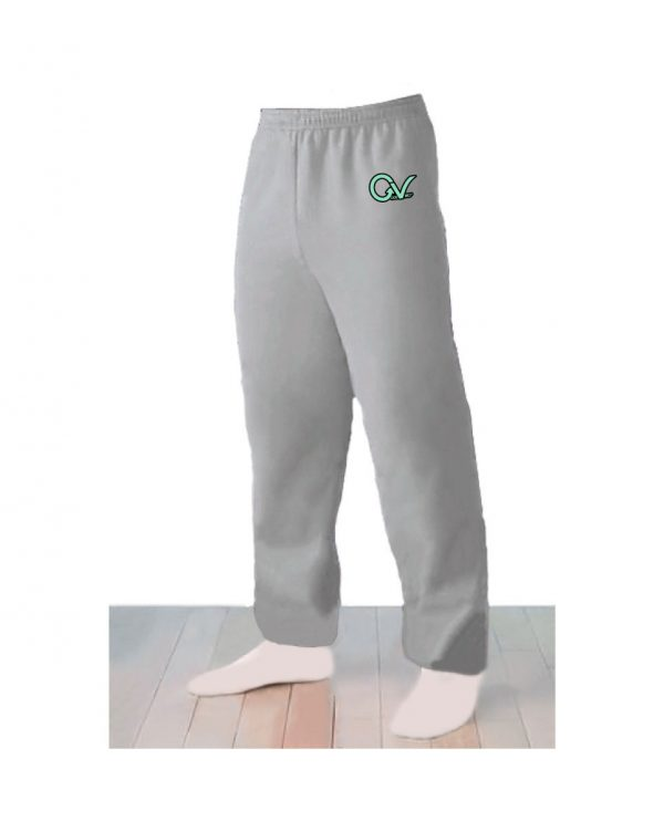 Good Vibes Logo Light Gray Sweatpants