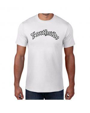 Good Vibes Northside Logo White T-shirt