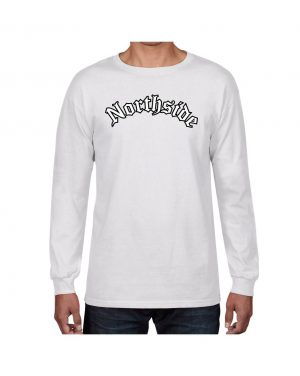 Good Vibes Northside Logo White Long Sleeve T-shirt