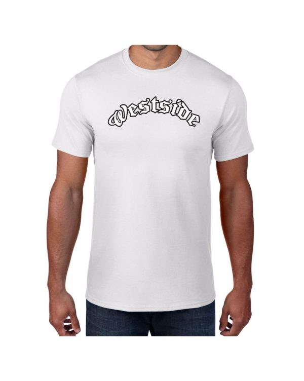 Good Vibes Westside White T-shirt