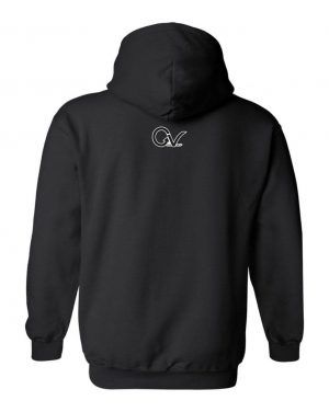 Good Vibes Black Gorilla Black Hoodie