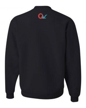 Good Vibes GV Multi Color Black Sweatshirt