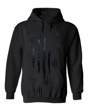 Good Vibes™ Men's Panther Claw Hoodie. This is a Heavyweight Hoodie 50% cotton and 50% Polyester with Front pouch pocket