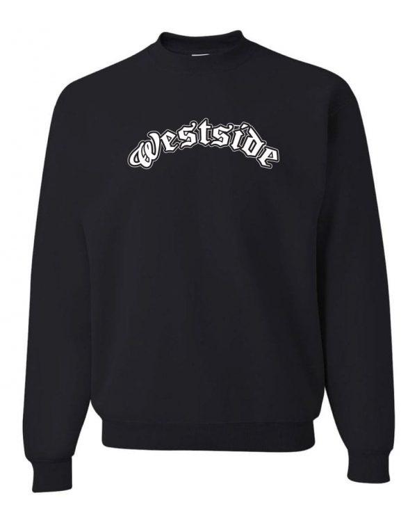 Good Vibes Westside Black Sweatshirt