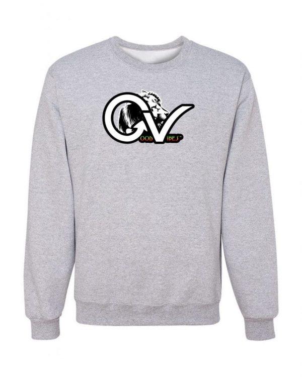 dfdfc613ec Good Vibes™ Rasta White GV Sweatshirt | GGS Global Graphic Solutions