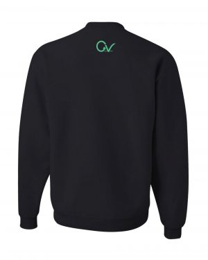 Good Vibes Dark Teal Black Sweatshirt
