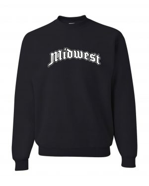 Good Vibes Midwest Black Sweatshirt