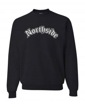 Good Vibes Northside Logo Black Sweatshirt