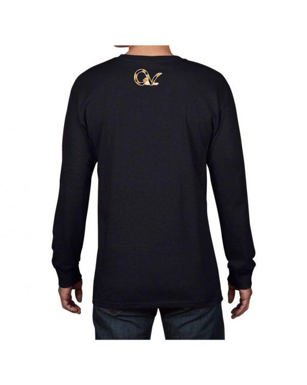 Good Vibes Cheetah Claw Black Long SleeveTshirt