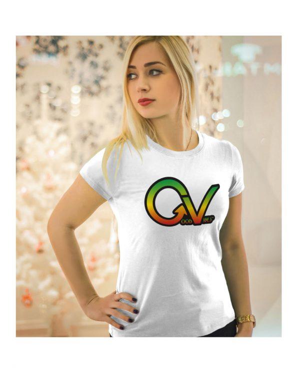 Good Vibes Rastafarian GV White Wo
