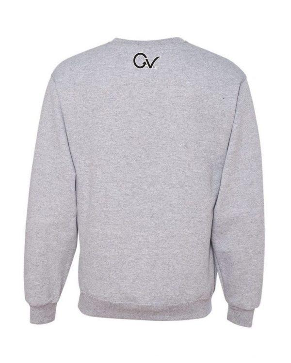 Gorilla-Black-Back-Gray-Sweatshirt-min