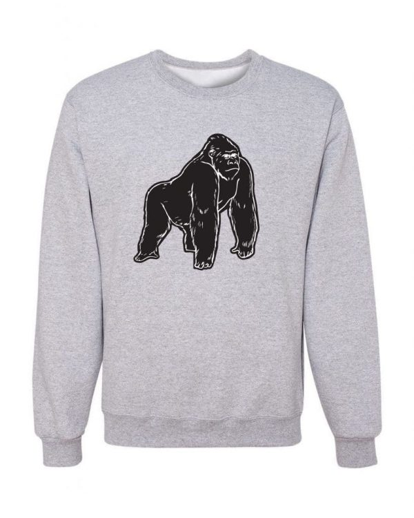 Gorilla-Black-Frt-Gray-Sweatshirt-min