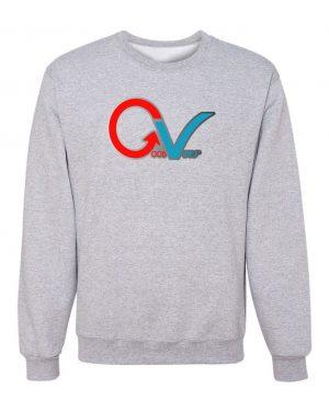 Good Vibes GV Multi Color Gray Sweatshirt
