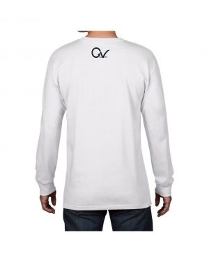 Good Vibes Panther Claw White Long SleeveT-shirt