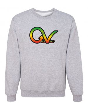 Good Vibes Rastafarian GV Gray Sweatshirt