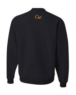 Good Vibes Flag Rasta Black Sweatshirt