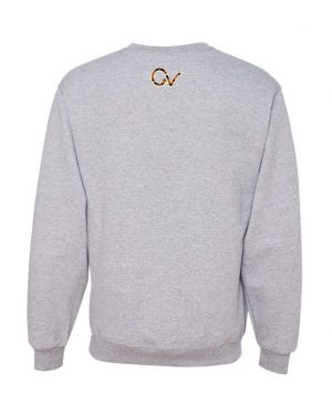 Good Vibes Tiger Claw Gray Sweatshirt