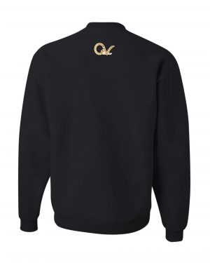 Good Vibes Lion Claw Black Sweatshirt