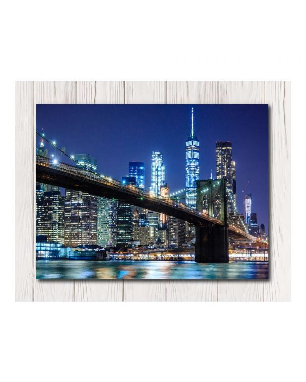 City Wall Canvas Available in 4 Sizes