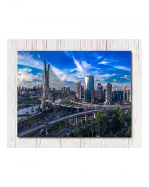 City Lights Wall Canvas Available in 4 Sizes