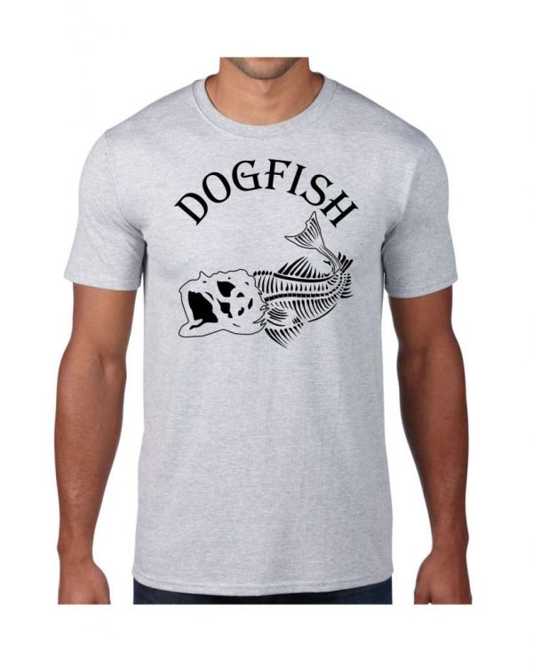 Good Vibes Dogfish Gray T-shirt