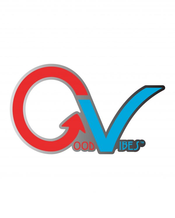 Good Vibes Multi Color GV Sticker