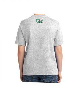 Kids Good Vibes Layout T-shirt 5.6 oz., 50/50 Heavyweight Blend Ash T-Shirt