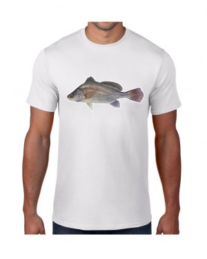 Freshwater Drum Fish T-shirt 5.6 oz., 50/50 Heavyweight Blend