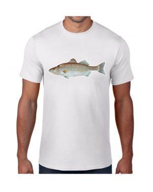 Striped Bass T-shirt 5.6 oz., 50/50 Heavyweight Blend